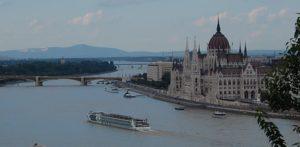 River cruise ship Danube, Budapest