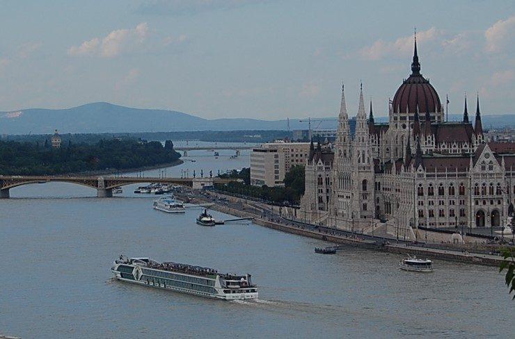 River cruise ship danube budapest